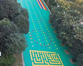 幼儿园悬浮拼装运动地板