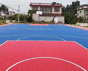 篮球场悬浮式地板
