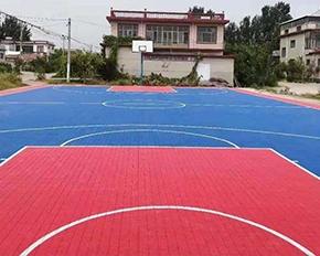 长安区篮球场悬浮式地板