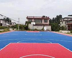 户外篮球场拼装地板