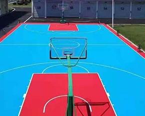 篮球场悬浮拼装运动地板