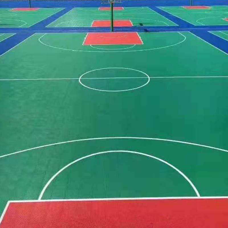 探究运动场拼装地板的特点及幼儿园对产品的要求